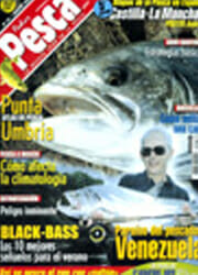 Alexander with Payara, Cover of Spain's FederPesca Magazine